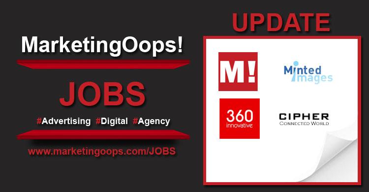 งานล่าสุด จากบริษัทเอเจนซี่โฆษณาชั้นนำ #Advertising #Digital #JOBS 26 Aug 14