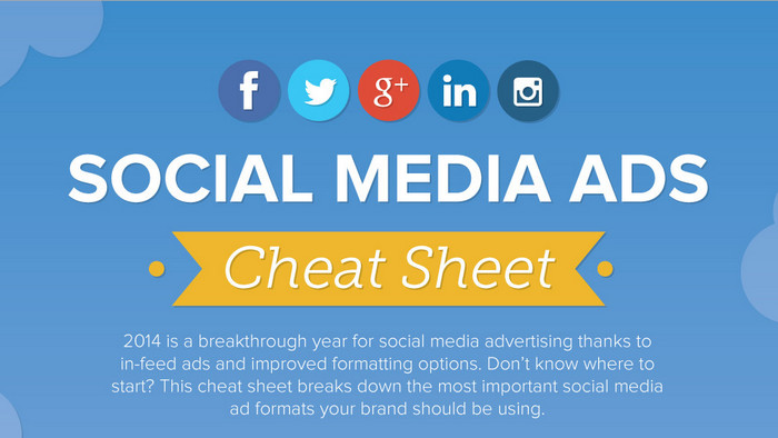 [Infographic] รวบรวมขนาดโฆษณา Ad Format สำหรับ Social Media ยอดนิยม