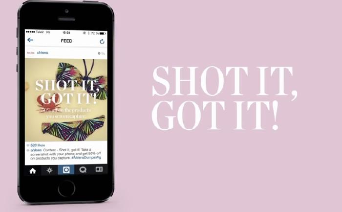 ห้างชวนลูกค้า Capture Screen คลิปใน Instagram เพื่อโปรโมทคอลเล็กชั่นใหม่และเรียก Foot Traffic