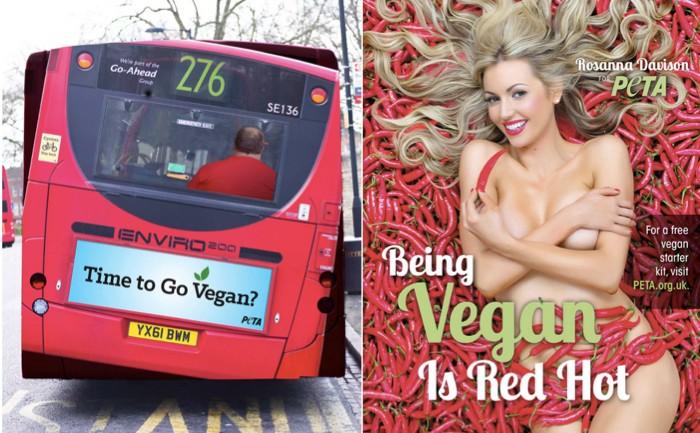 """PETA กับโฆษณาภาพลวงตา """"อ้วนจนรถเมล์เอียง"""" กระตุ้นคนหันมาทานมังสวิรัติ"""