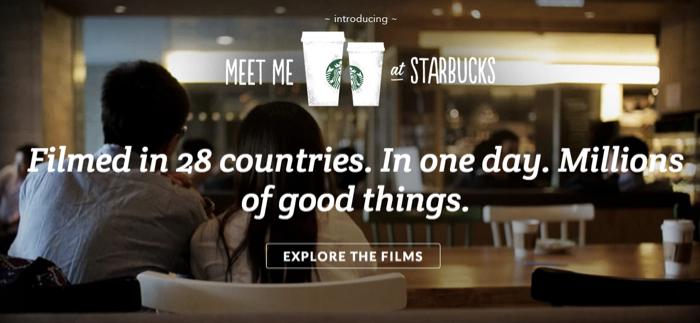Starbucks ออกโฆษณาซึ้งรับวันกาแฟสากล