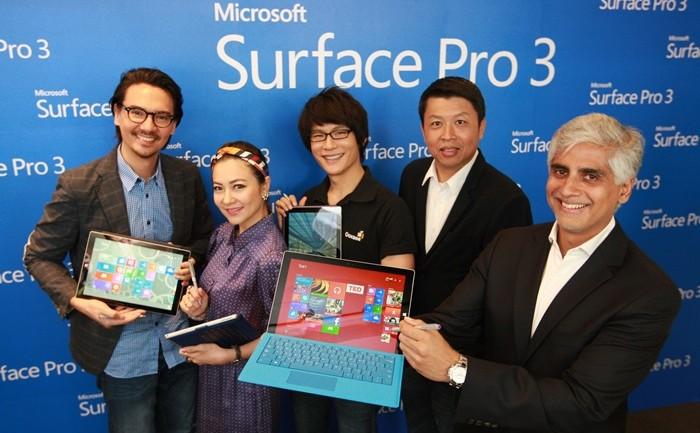 [PR] ไมโครซอฟท์เปิดตัว Surface Pro 3 สร้างนิยามใหม่ แท็บเล็ตสมรรถนะสูงที่สุดในโลก