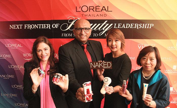ลอรีอัล ประเทศไทย เผยครึ่งปีแรกเติบโตเกิน 3 เท่า เล็งขยายความสำเร็จสู่ตลาดเมคอัพ