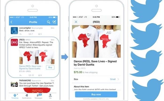 """Twitter คลอดฟีเจอร์ใหม่ """"Buy"""" เอาใจขาช็อป สั่งซื้อได้ในคลิกเดียว"""