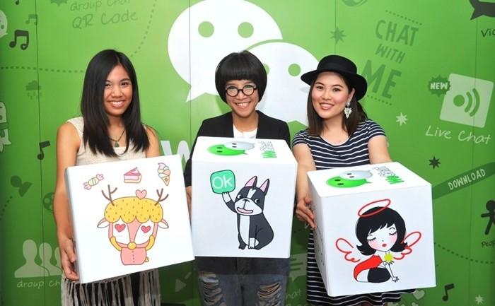 "[PR] WeChat เปิดตัวแคมเปญใหม่ ""WeChat Local Artist"" เอาใจขาแชทด้วยสติกเกอร์ดุ๊กดิ๊ก"