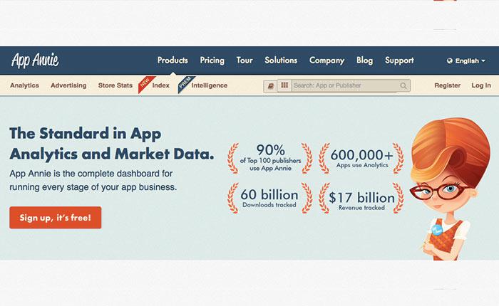 พาไปดู Feature บริการ App Store Optimization ของ App Annie