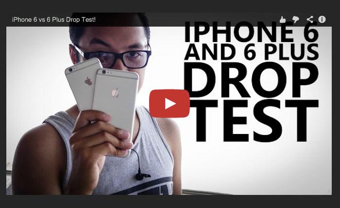 """เกรียน Android ทดสอบลองทำ """"iPhone 6 และ iPhone 6 Plus """" หล่น!"""
