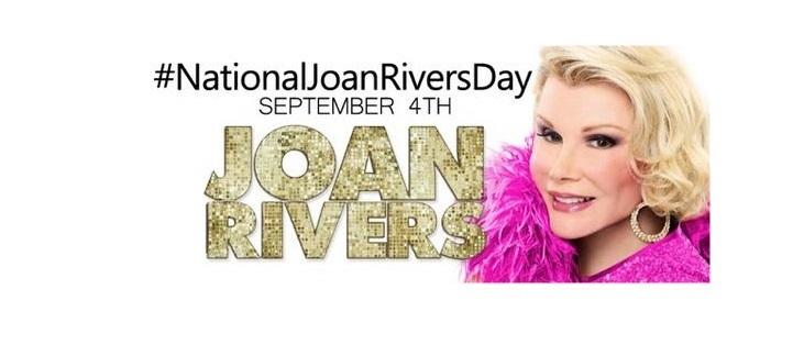 """ฮอลลีวู้ดรณรงค์ติดแฮชแท็ก """"#NationalJoanRiversDay"""" หวังดัน 4 กันยายนเป็นวัน """"โจน ริเวอร์ส"""""""