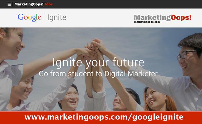 ขอเชิญเอเจนซี่โฆษณา ลงทะเบียนรับนักศึกษาที่สอบผ่าน Google Adwords