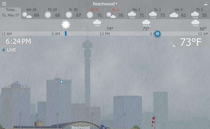 YoWindow…เพลิดเพลินกับดินฟ้าอากาศ