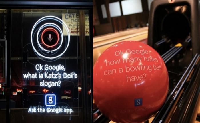 กูเกิลเก๋ส่ง Ambient Ads ปะทั่วนิวยอร์ก ท้าว่าทุกอย่างที่อยากรู้ที่พี่กู (เกิล) มีคำตอบ!