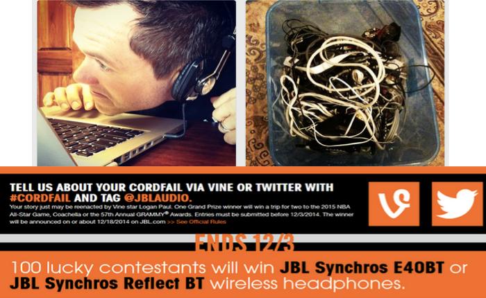 JBL ออกโฆษณาย้ำหูฟังสายยาวๆมันทำให้ชีวิตพังพินาศได้ (ฉะนั้นควรหันมาใส่หูฟังไร้สายซะ!)