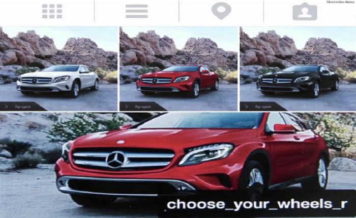BENZ เจ๋ง! ใช้ Instagram ให้ลูกค้าเลือกแต่งรถได้ตามใจ!