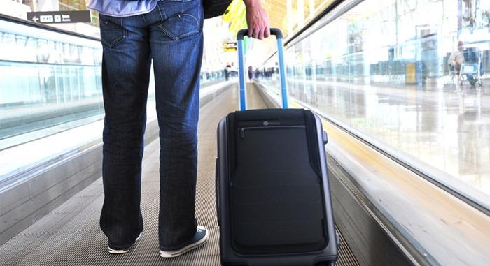 Bluesmart กระเป๋าเดินทางอัจฉริยะ-เชื่อมต่อกับแอพฯ กันหายกันถูกขโมย