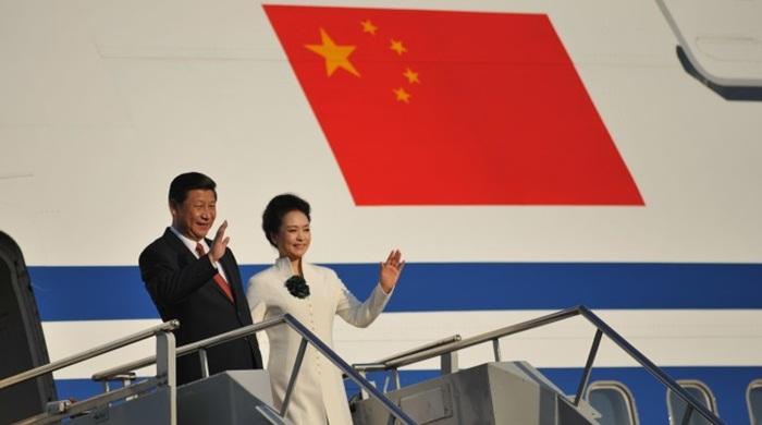 ภริยาผู้นำจีนโดนดราม่าหลังโพสต์ภาพคู่สามีบน Instagram