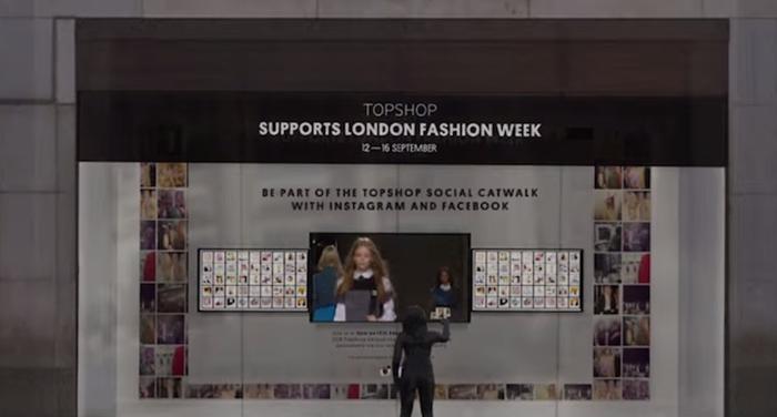 TopShop ส่งแคมเปญ SocialCatwalk เอาใจคนชอบเล่นโซเชียลเนตเวิร์ก