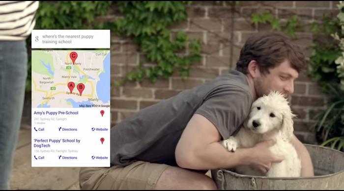 The Google App: New Puppy โฆษณา TVC ตัวใหม่ล่าสุดของ Google Australia