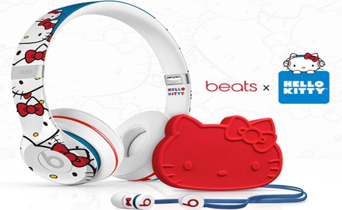 """Beats ปล่อยคอลเลคชั่นพิเศษ เอาใจแฟนพันธุ์แท้ """"Hello Kitty"""" มุ้งมิ้งน่าดู"""