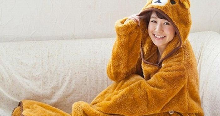แปลงร่าง! เป็นหมีน้อย Rilakkuma กับของพรีเมียมรับลมหนาวของพวกเขากันดีกว่า