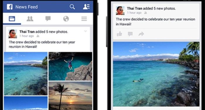 Facebook เพิ่มฟีเจอร์ช่วยจัดเรียงรูปภาพบนสมาร์ทโฟน