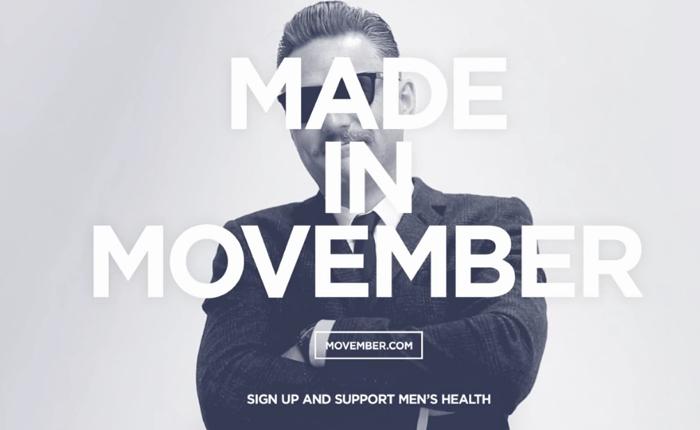 """Movember"" กิจกรรม Viral เฉพาะเดือนพฤศจิกาฯชวนผู้ชายไว้หนวดงามๆกระตุ้นดูแลสุขภาพตัวเอง"