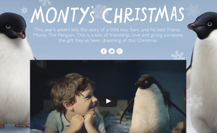 ห้างฝรั่งออกโฆษณาซึ้งใช้แพนกวินน้อยเป็นฑูตชวนคนเตรียมช้อปรับเทศกาลของขวัญ