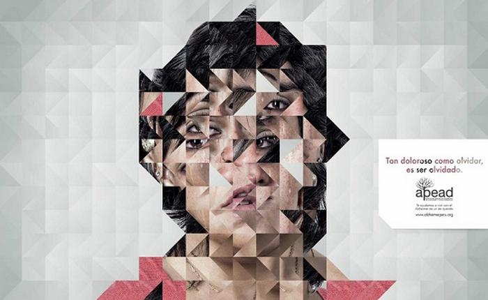 NGO ใช้ Print Ads ชี้ปัญหาของผู้ป่วยอัลไซเมอร์ได้ถึงกึ๋น