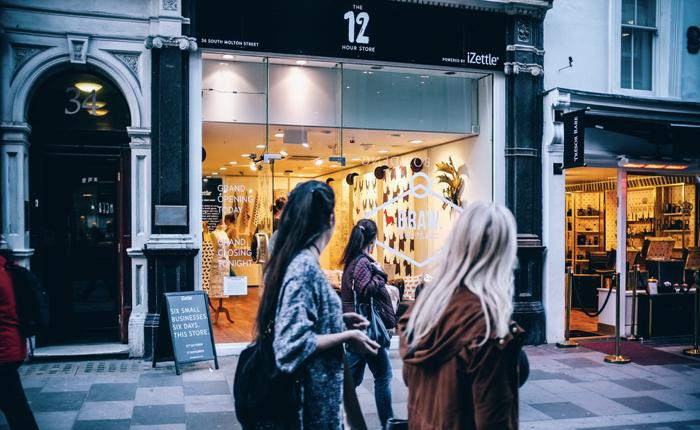 บริษัททำเครื่องรูดบัตรไฮเทค โปรโมทตัวเองกับพ่อค้า SME's ด้วยการเปิดร้านค้าชั่วคราวให้ขายของฟรีใจกลางลอนดอน