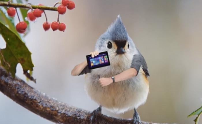 ASUS ออกโฆษณาขำตัดต่อมือคนใส่ไปตัวนก/ไก่ ขายคอนเซ็ปต์ On The Fly