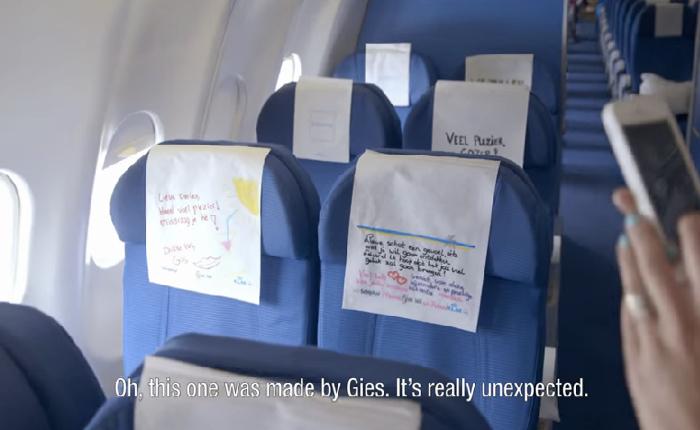 KLM ส่งความซึ้งให้กับลูกค้าไม่มีที่สิ้นสุด ด้วยการใช้ผ้ารองศีรษะแทนการ์ดเพื่อคนพิเศษ