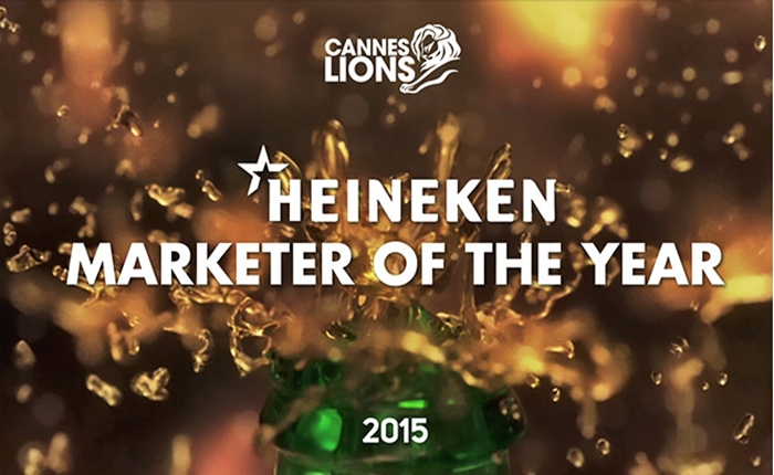 Heineken คว้า Creative Marketer of the Year สุดยอดรางวัลจาก Cannes Lions 2015