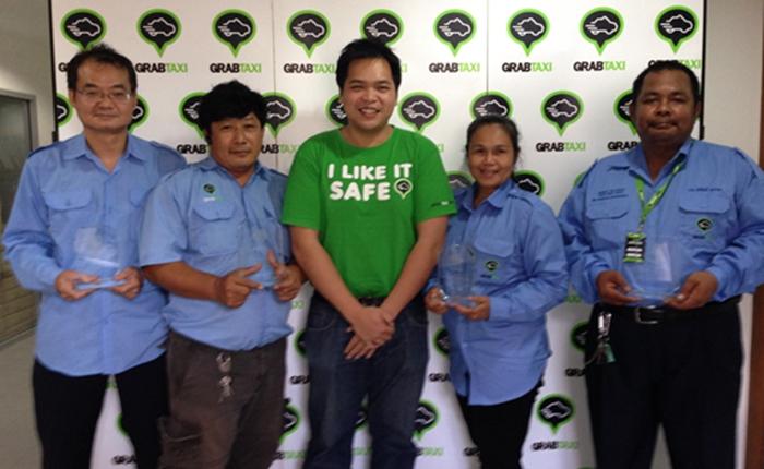 [PR] GrabTaxi มอบรางวัลให้กับคนขับแท็กซี่ดีเด่น