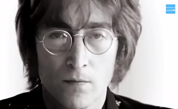 UNICEF จัดแคมเปญรณรงค์เพื่อสิทธิเด็ก ชวนร้องเพลงกับ John Lennon และดาราอีกเพียบ
