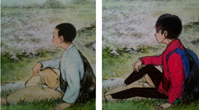 เด็กเกาหลีเบื่อเรียนเลยแปลงโฉมตัวการ์ตูนโบราณให้เท่ระเบิดเหมือนตัวเอกซีรีย์เกาหลี