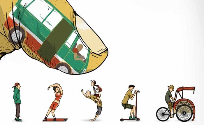 โฆษณาสร้างสรรค์ จากอินโดนีเซีย รณรงค์งดการแชทระหว่างขับขี่ ลดอุบัติเหตุที่จะถึงแก่ชีวิต