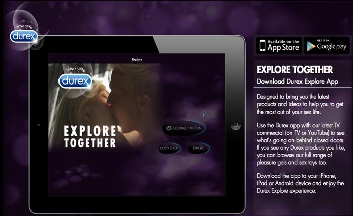 Durex เจ๋งใช้สื่อโฆษณา 2 จอพร้อมกันเพื่อโชว์ภาพลับๆเข้ากับบริการส่งสินค้าอย่างว่าถึงหน้าบ้าน (ขอย้ำ 18+)