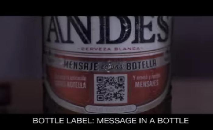 แบรนด์เบียร์ออกเครื่องมือช่วยให้พูดเรื่องยากๆได้ง่ายขึ้นแค่สแกน QRcode ข้างขวด!