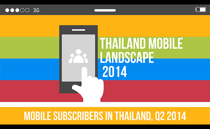 DAAT เผยตัวเลขผู้ใช้โทรศัพท์มือถือทั่วไทย ของไตรมาส 2 ปี 2557