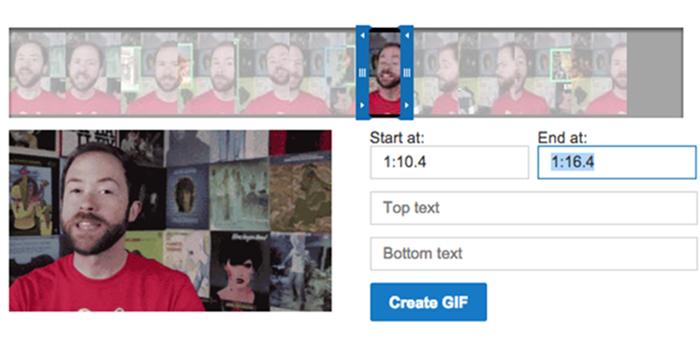 YouTube ทดสอบฟีเจอร์สร้างไฟล์ GIFs บนแฟลตฟอร์มโดยตรง