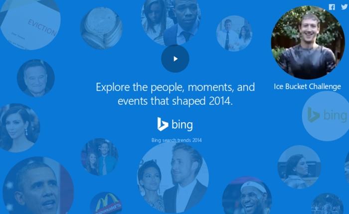 Bing เผยคำค้นหายอดนิยมประจำปี 2014 แล้วได้แก่ iPhone6 และ Facebook