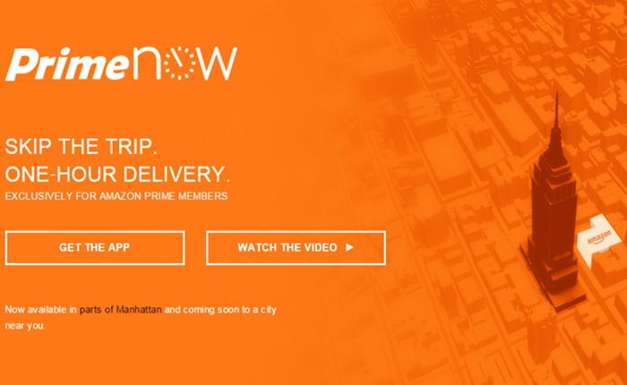 Amazon เปิดบริการใหม่ ส่งด่วนภายใน 1 ชั่วโมง เริ่มต้นนิวยอร์กเป็นที่แรก