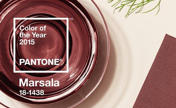 """PANTONE ประกาศเทรนด์แห่งปี 2015 """"สีไวน์แดง"""""""