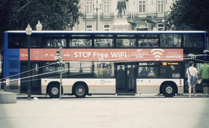 สวรรค์แห่ง Wi-Fi ชาวเมืองปอร์โต ได้ใช้ฟรีทั้งบนรถบัส-แท็กซี่ แถมยังรายงานถนนชำรุดได้อีกด้วย
