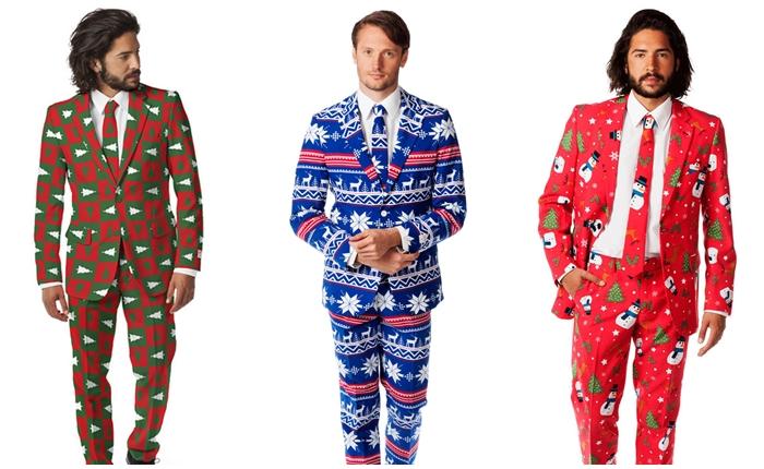 แบรนด์เสื้อผ้าบุรุษ ออกแบบชุดสูทต้อนรับคริสต์มาส-ปีใหม่ ดีไซน์สุดแหล่ม!
