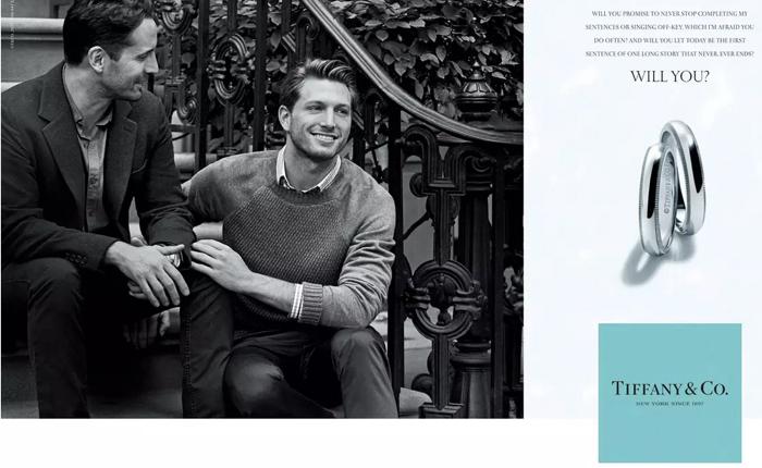 แหวน Tiffany & Co ออกโฆษณาใหม่หาลูกค้าใหม่ เจาะใจคู่รักเพศเดียวกัน