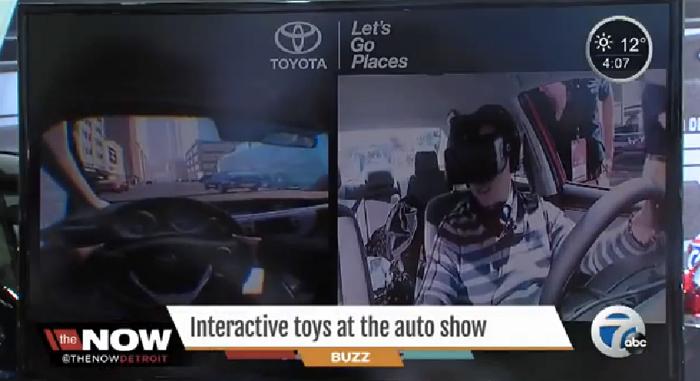 Toyota ใช้แว่นตาไฮเทคสอนวัยซ่าให้ขับรถอย่างปลอดภัย