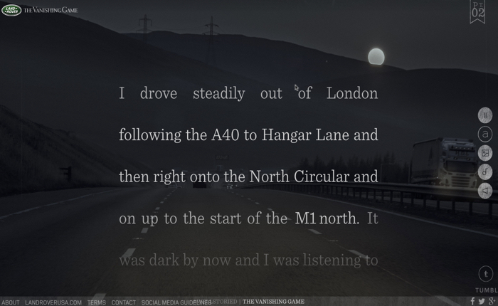 รถจี๊ปเพื่อการผจญภัย Land Rover สร้างนิยายออนไลน์ ปลุกสปิริตนักท่องโลก!