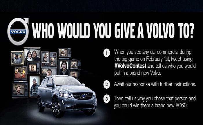 Volvo เล่นง่าย แจกรถทั้งคัน แค่คนดูตั้งใจดูโฆษณาแล้วทวีตว่าอยากแจกรถคันนี้ให้ใคร!