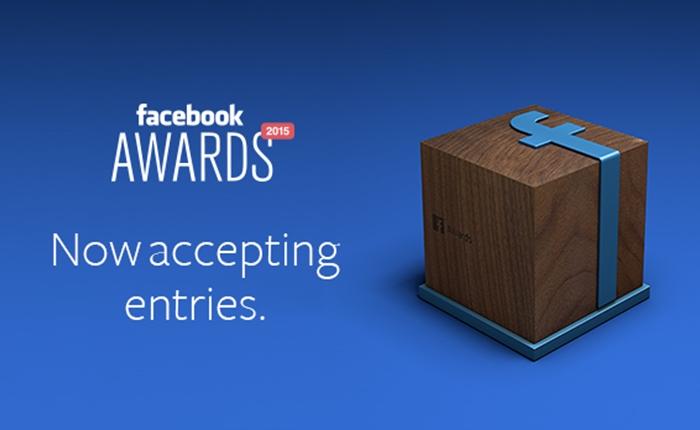 "Facebook เปิดรับการเสนอผลงานเข้าชิงรางวัล ""Facebook Awards"" ประจำปี 2015"