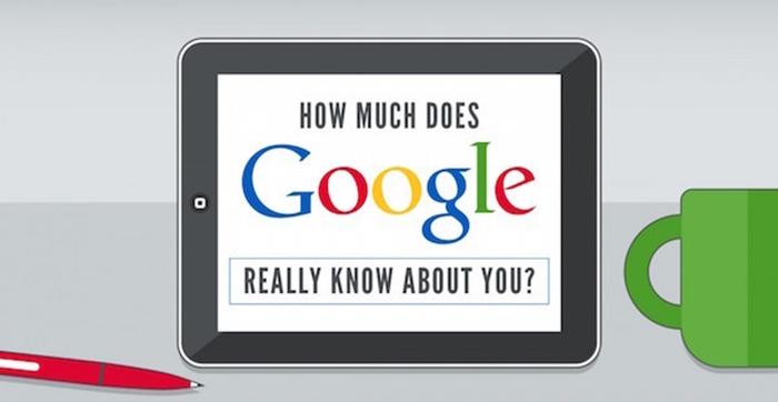 คุณรู้ทุกอย่างจาก Google แล้วรู้หรือไม่ Google ก็รู้ทุกอย่างเรื่องคุณ!